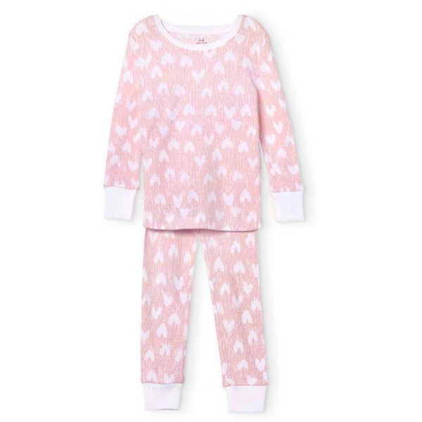 aden + anais Kids sets Hearts Pajama Set - Ever Simplicity