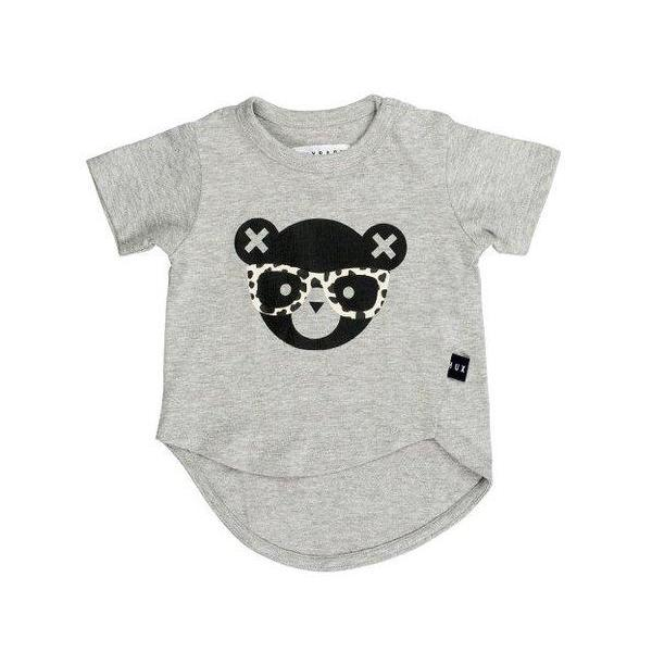 Huxbaby Kids tops Grey Asymmetric T-shirt - Ever Simplicity