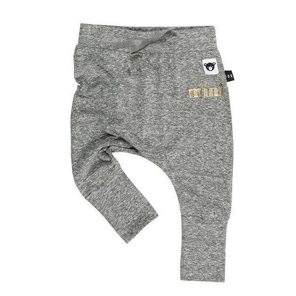 Huxbaby Kids bottoms Charcoal High Cuff Drop Crotch Pant - Ever Simplicity