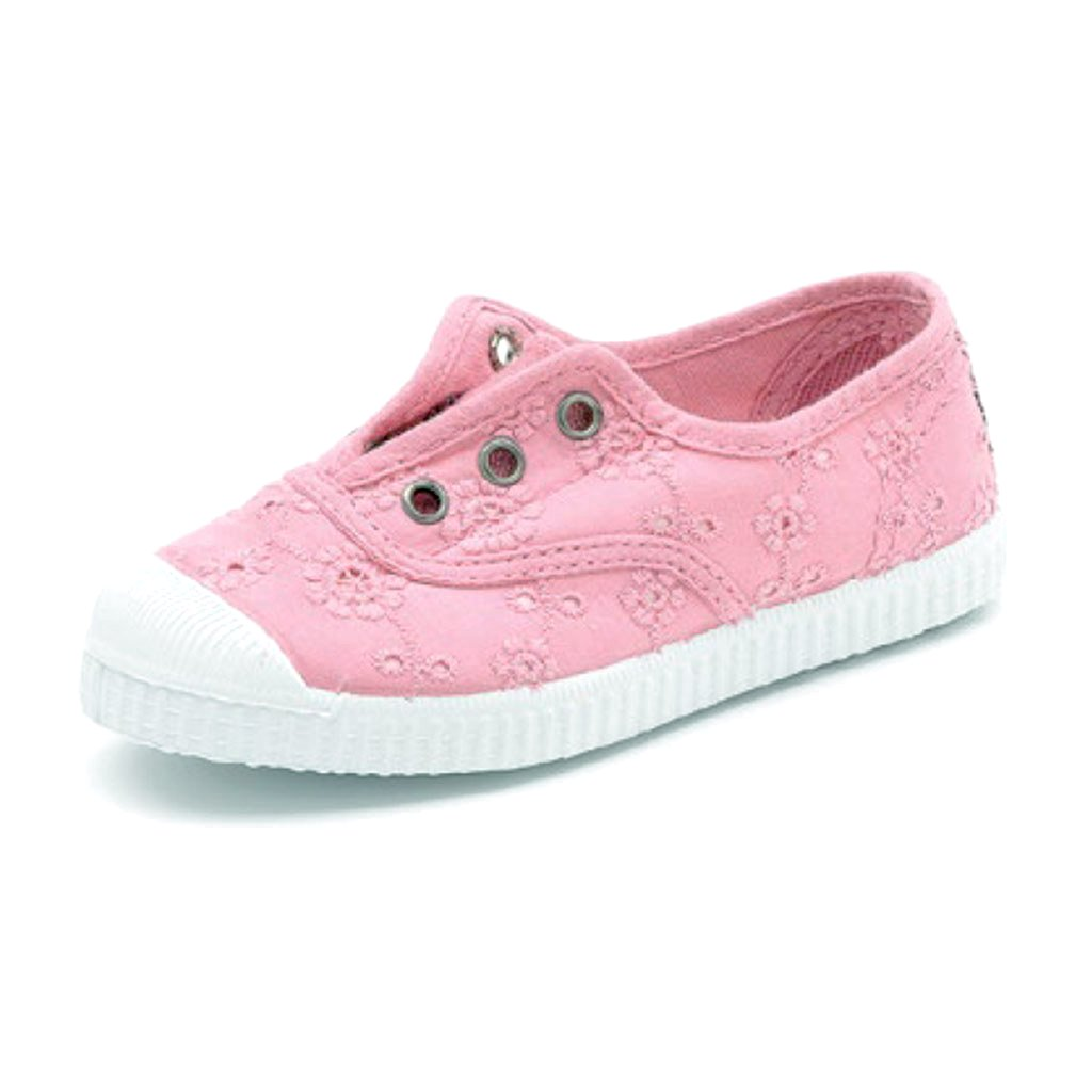 Cienta Kids accessories Lace Sneaker-Pink - Ever Simplicity