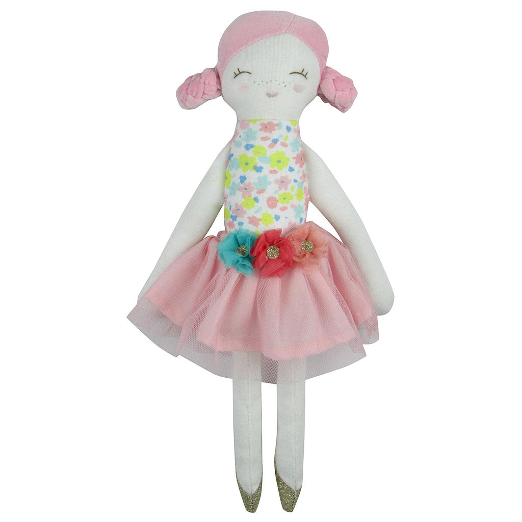 Pink Flower Doll-Large