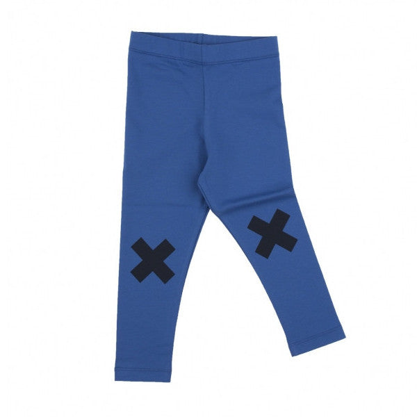 tinycottons Kids bottoms logo pant-blue/dark navy - Ever Simplicity