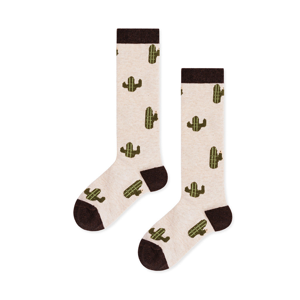 Hansel from Basel Kids accessories Mini Cacti Knee Hi-Flax - Ever Simplicity