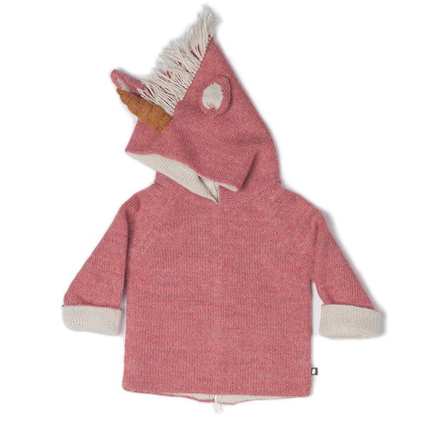 Oeuf Kids cardigans Unicorn Hoodie - Ever Simplicity