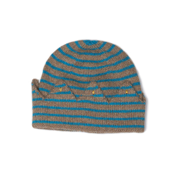 Crown Hat-Rope/Bay Blue Stripe - Ever Simplicity  - 1
