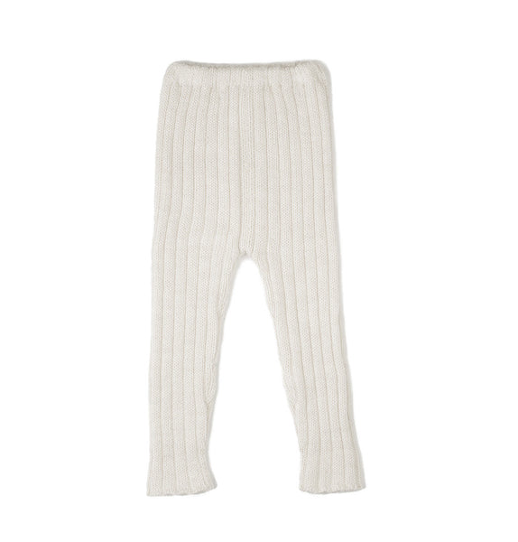 Oeuf Kids Bottoms Everyday Pants-White - Ever Simplicity
