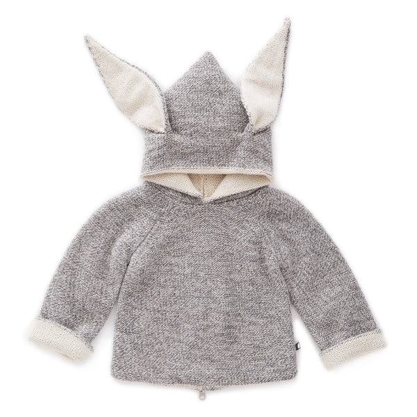 Oeuf Kids cardigans Rabbit Hoodie - Ever Simplicity