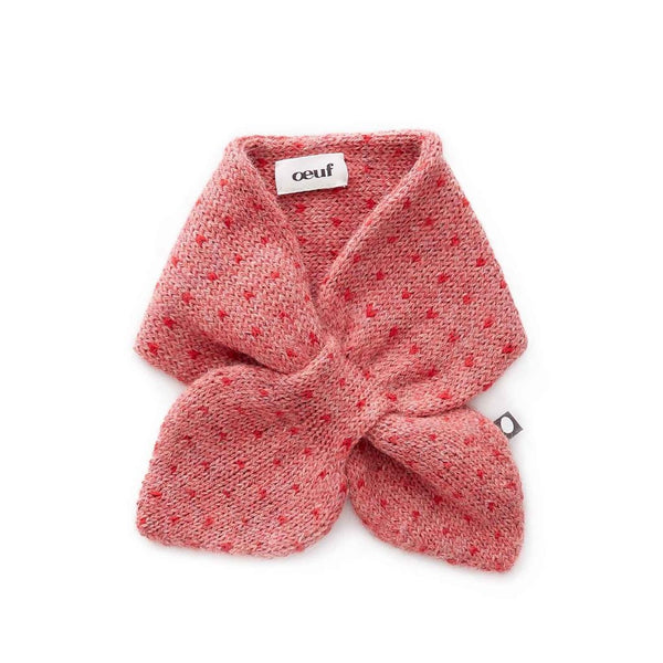 Oeuf Kids accessories Neckie-Rose/Red Dots - Ever Simplicity