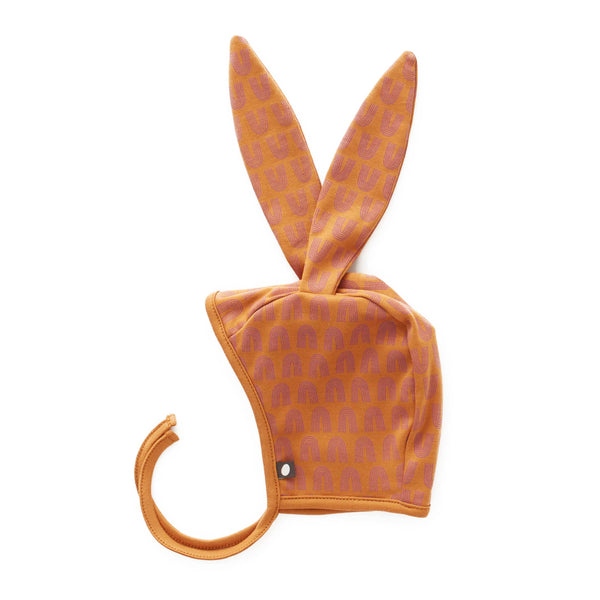 Oeuf Kids accessories Bunny Hat-Ochre/Rainbows - Ever Simplicity