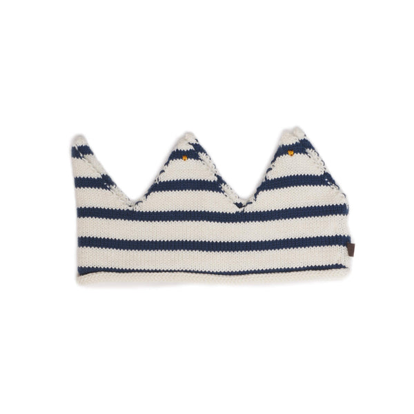 Oeuf Kids accessories Crown-White/Dark Navy - Ever Simplicity