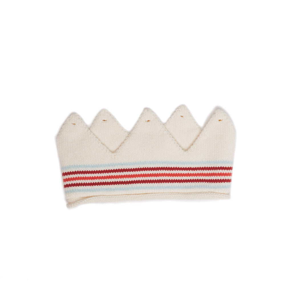 Oeuf Kids accessories Crown-WHITE/MULTI STRIPES - Ever Simplicity