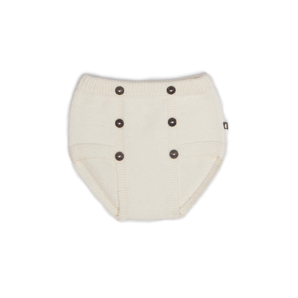 Oeuf Kids bottoms RETRO DIAPER COVER-White - Ever Simplicity