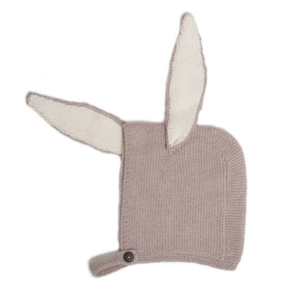 Bunny Hat-Light Grey
