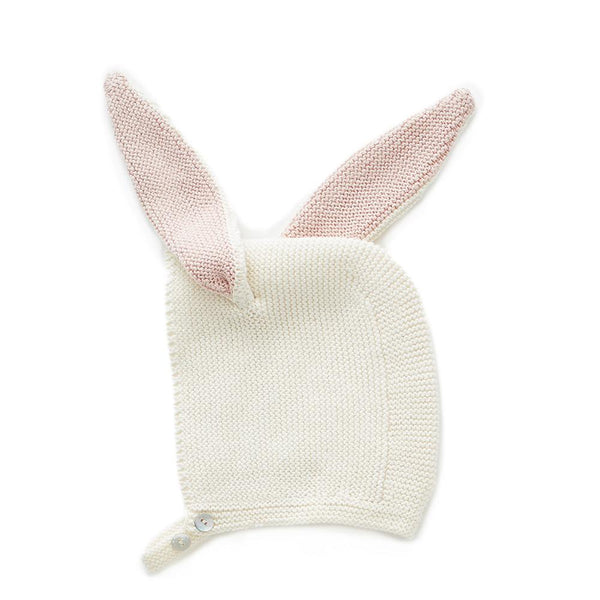 Oeuf Kids accessories Bunny Hat-White - Ever Simplicity