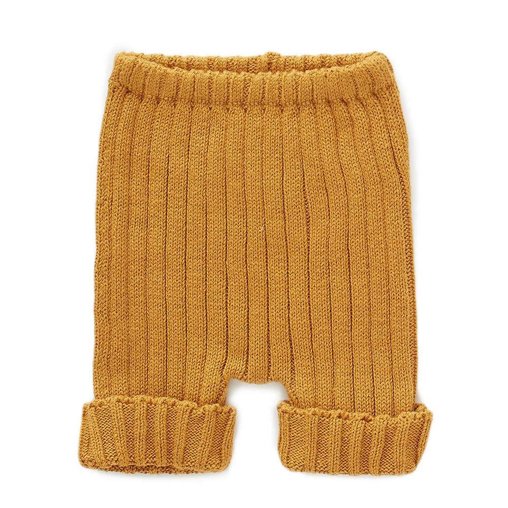 Oeuf Kids bottoms Everyday Shorts-Ochre - Ever Simplicity