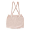 Peach Pocket Shorts-Light Pink
