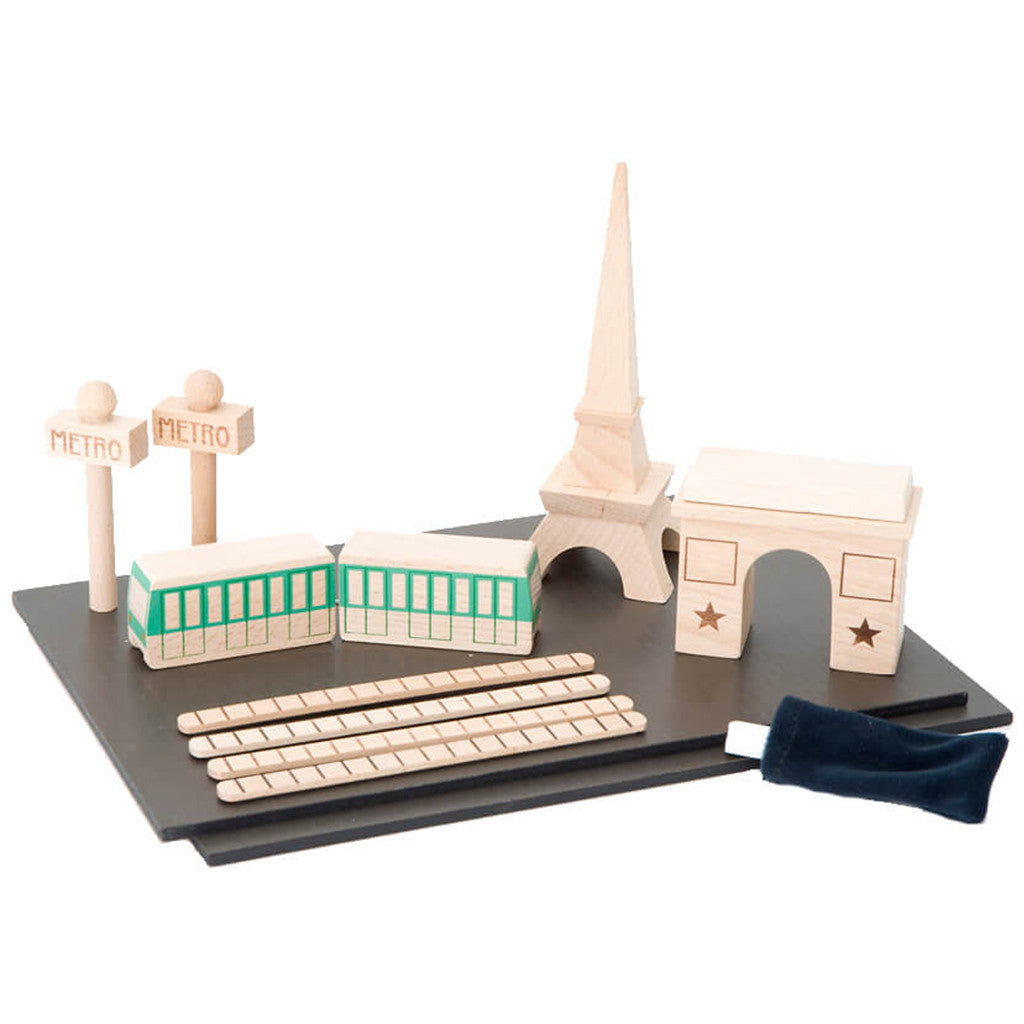 Kukkia Kids toys Machi Paris Town - Ever Simplicity