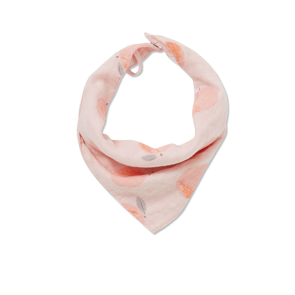 Angel Dear Kids accessories Peach Muslin Bib - Ever Simplicity