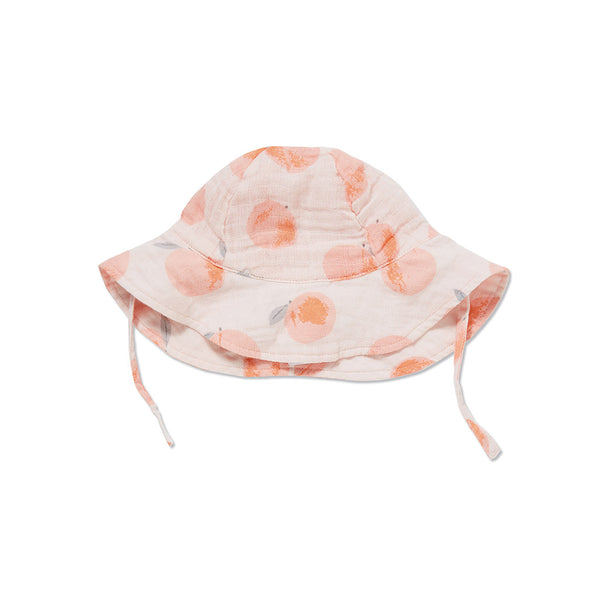 Angel Dear Kids accessories Peach Muslin Sunhat - Ever Simplicity
