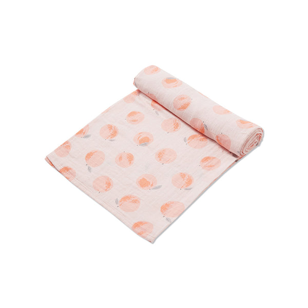Angel Dear Kids accessories Peach Muslin Swaddle - Ever Simplicity