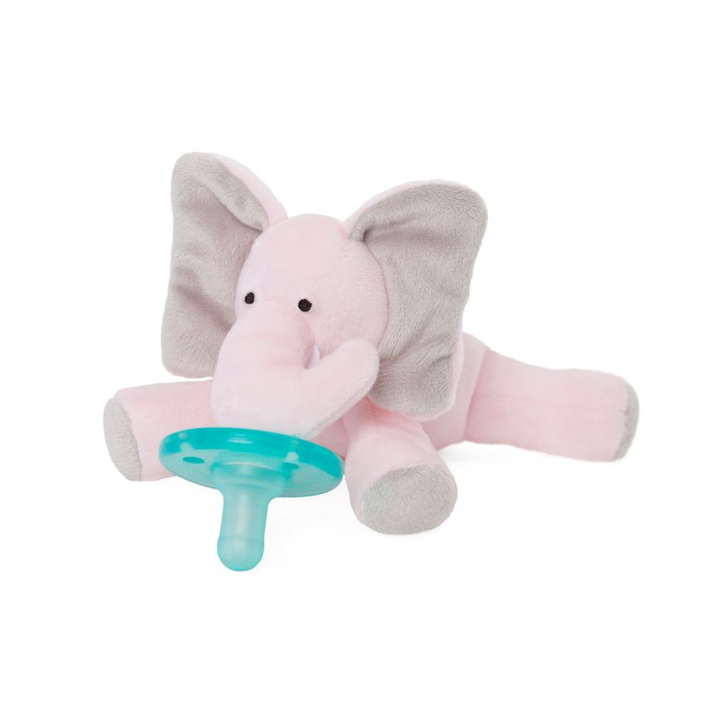WubbaNub Kids Toys Pink Elephant Pacifier - Ever Simplicity