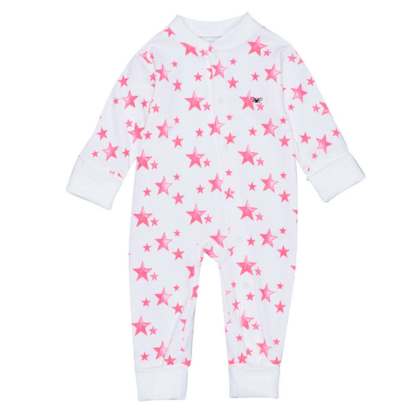 Pink Star Overall