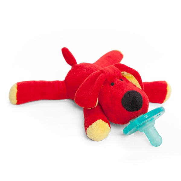 WubbaNub Kids Toys Red Dog Pacifier - Ever Simplicity