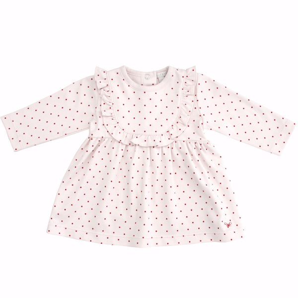 Livly Baby dresses Red Dot Dress - Ever Simplicity