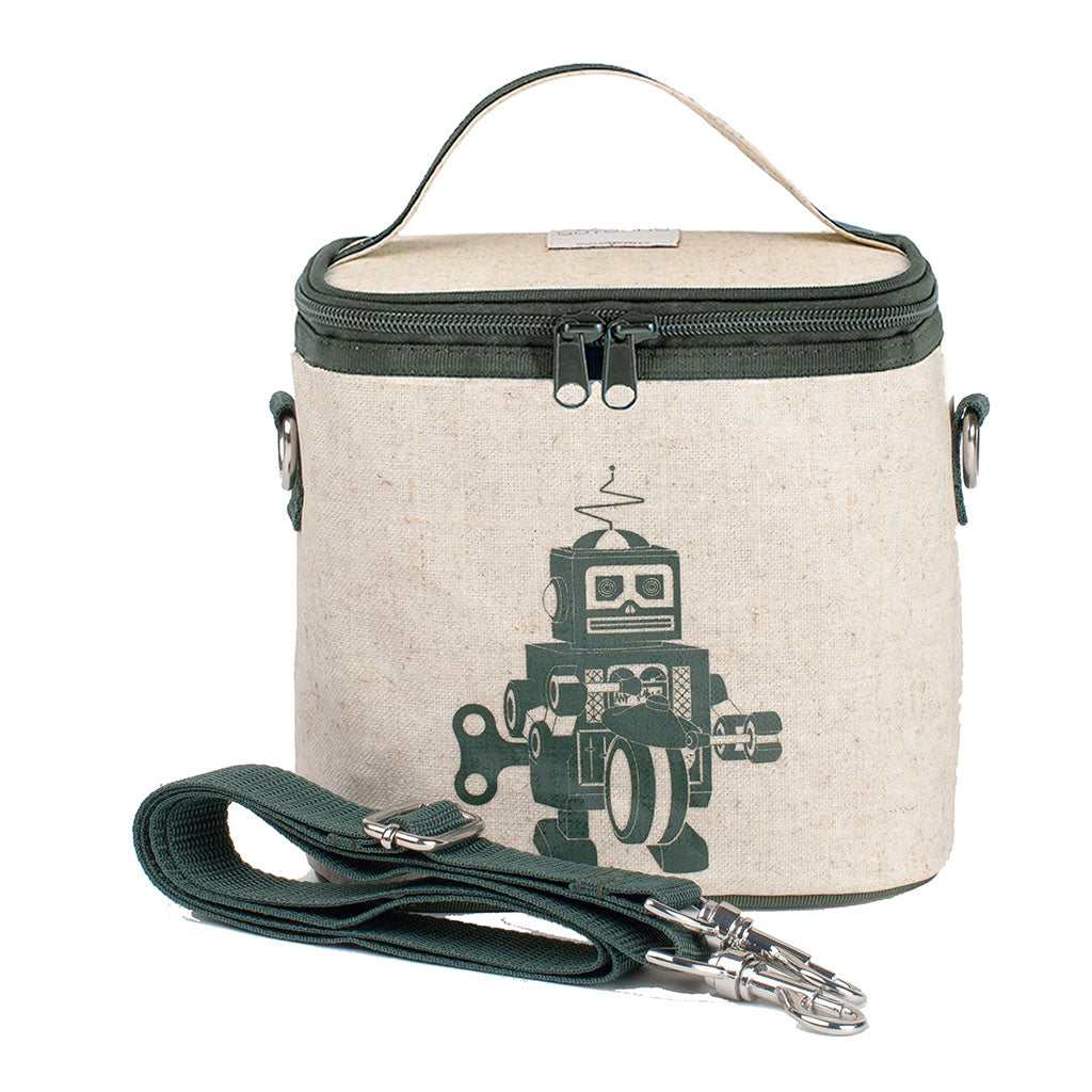 Soyoung Kids accessories Grey Robot Small Cooler Bag - Ever Simplicity