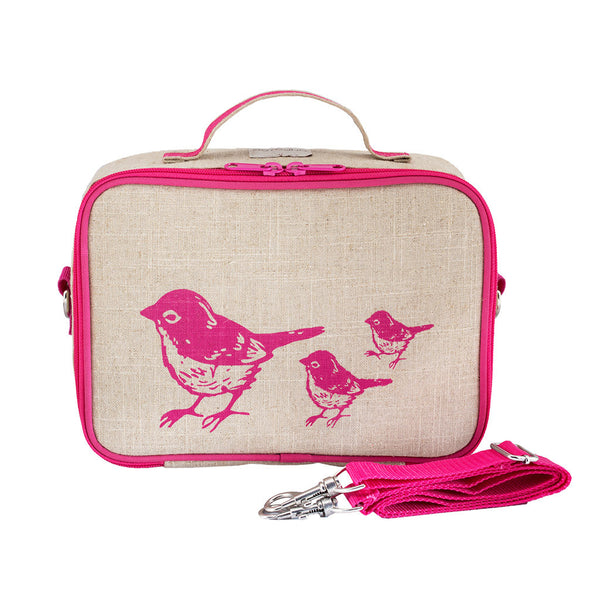 Pink Birds Lunch Box