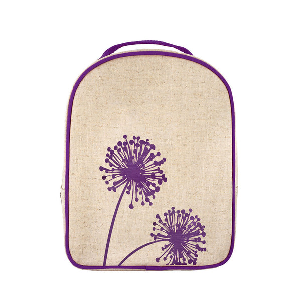 Purple Dandelion Toddler Lunch Box