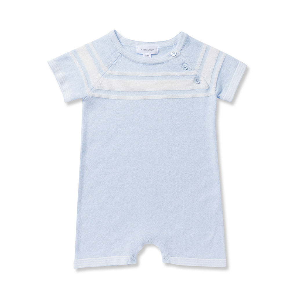 Angel Dear Kids romper Take Me Home Shortie-Blue - Ever Simplicity