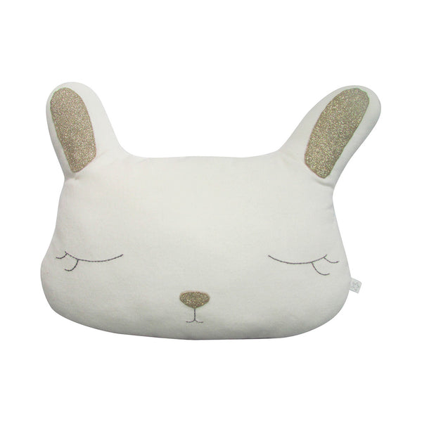 Albetta Kids toys Gold Velvet Bunny Cushion - Ever Simplicity