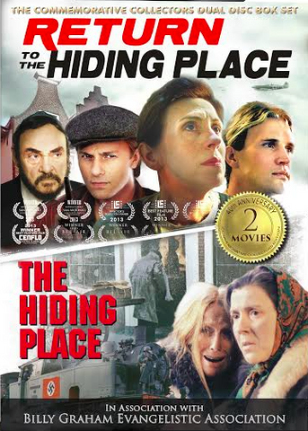FREE SHIPPING: 40th Anniversary Commemorative Dual Disc Collector's Edition - The Hiding Place + Return to the Hiding Place (2 DVDs)