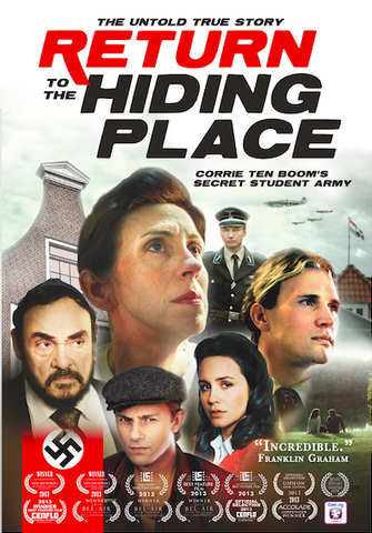 FREE SHIPPING: Return to the Hiding Place (DVD)