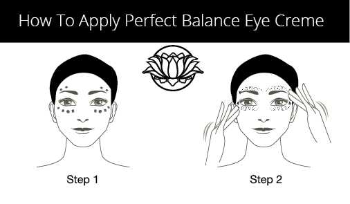 How To Apply Lotus Moon Eye Cream