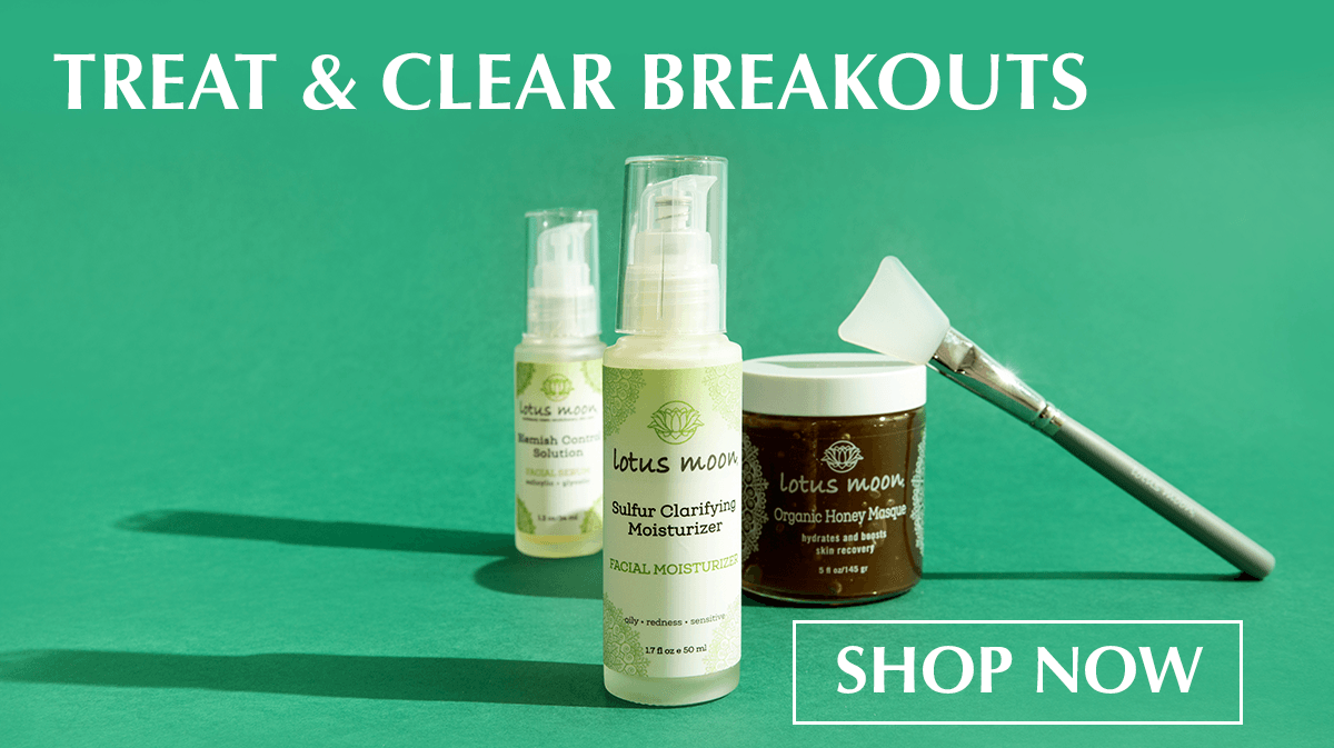 treat and clear chest, back and butt breakouts