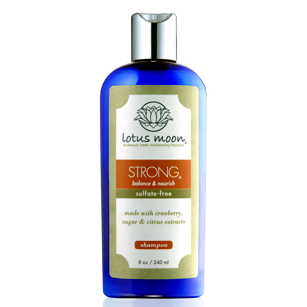 64d92b284d265 STRONG Natural and Organic Shampoo for All Hair Types – Lotus Moon Skin Care