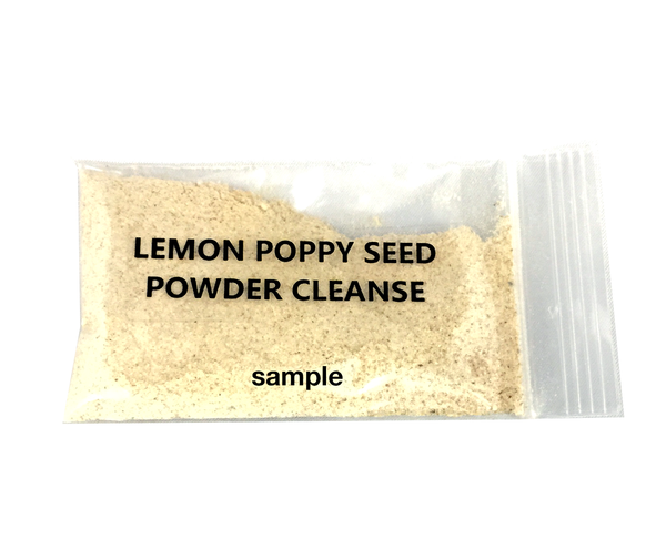 (SAMPLE) Lemon Poppy Seed Foaming Powder Cleanse