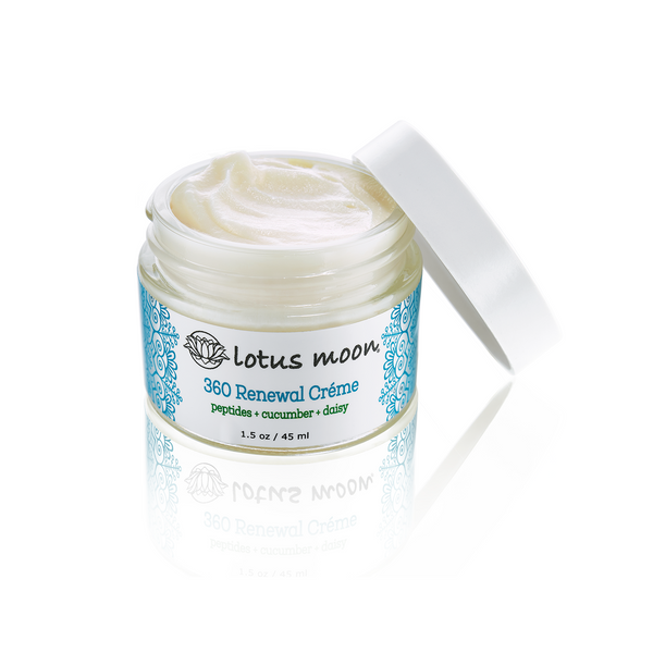 Lotus Moon 360 Renewal Creme with cucumber water