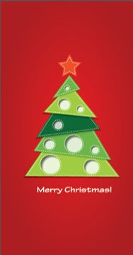 Merry Christmas! Cards (pack of 8)