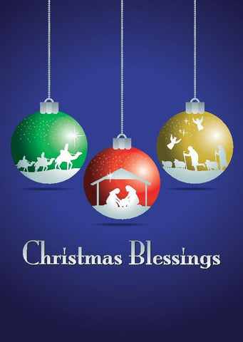 Christmas Blessings Christmas Cards (pack of 8)