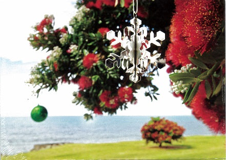 Christmas Pohutukawa Christmas Cards (pack of 8)