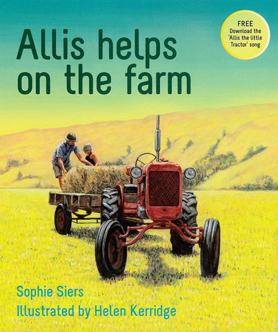 Allis helps on the farm (children's book)