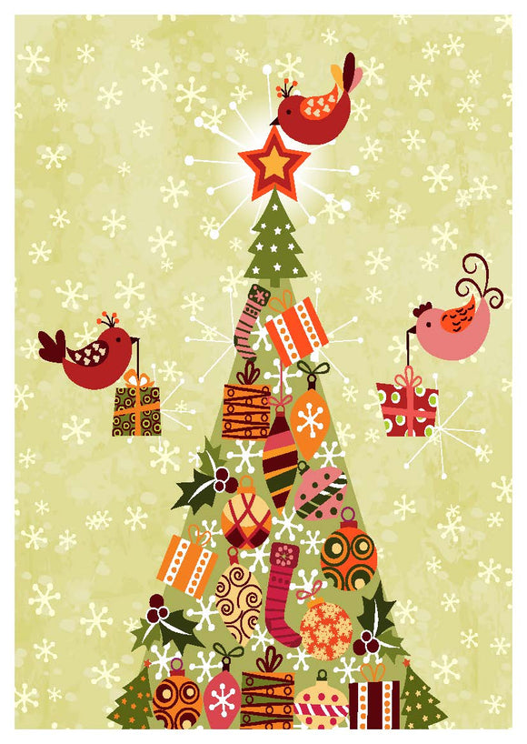 Present Delivery Christmas Cards (pack of 8)