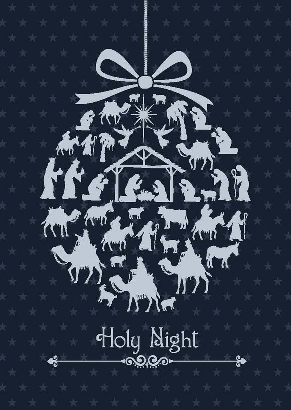 Holy Night Christmas Cards (pack of 8)