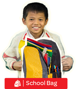 School Bag - Postal Gift Card