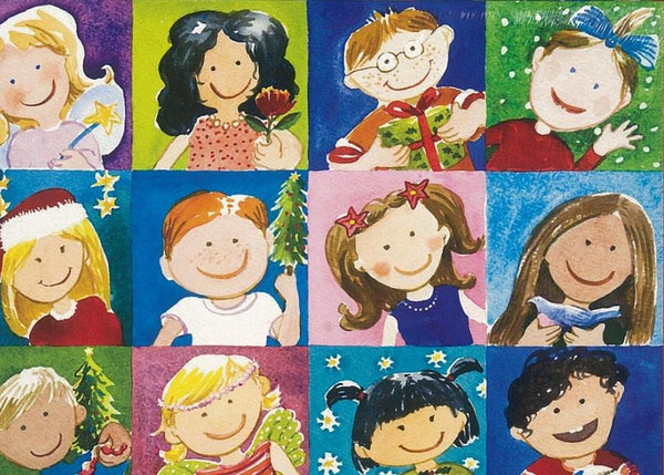 Christmas Kids Cards (pack of 8)