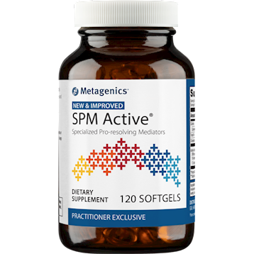 Metagenics SPM Active 120 softgels- 2 sizes available
