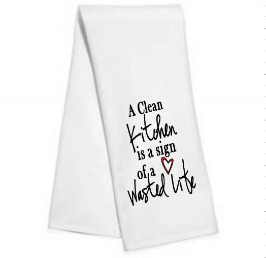 A clean kitchen is a sign.....Kitchen/Bar Towel
